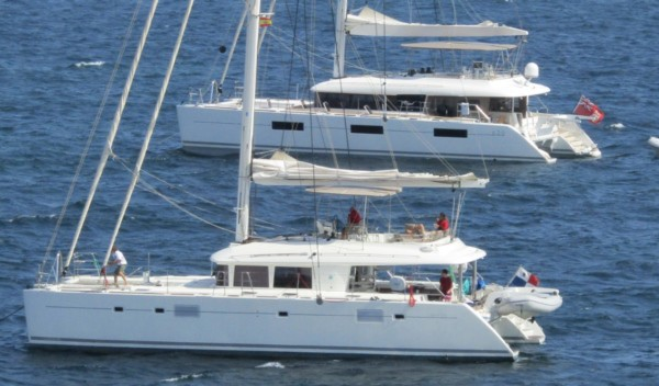 Luxury catamarans for charter - Med and Caribbean