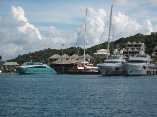 Antigua Luxury yacht charters