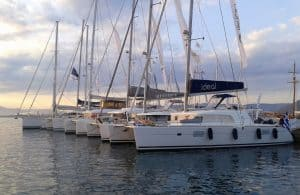 Luxury catamaran charters Greece