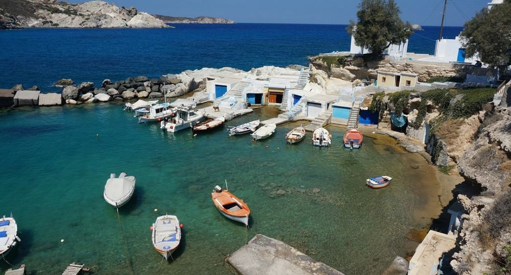 New charter base ports in Greece