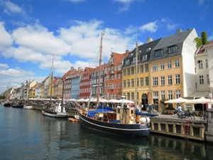 Denmark - port of Copenhagen