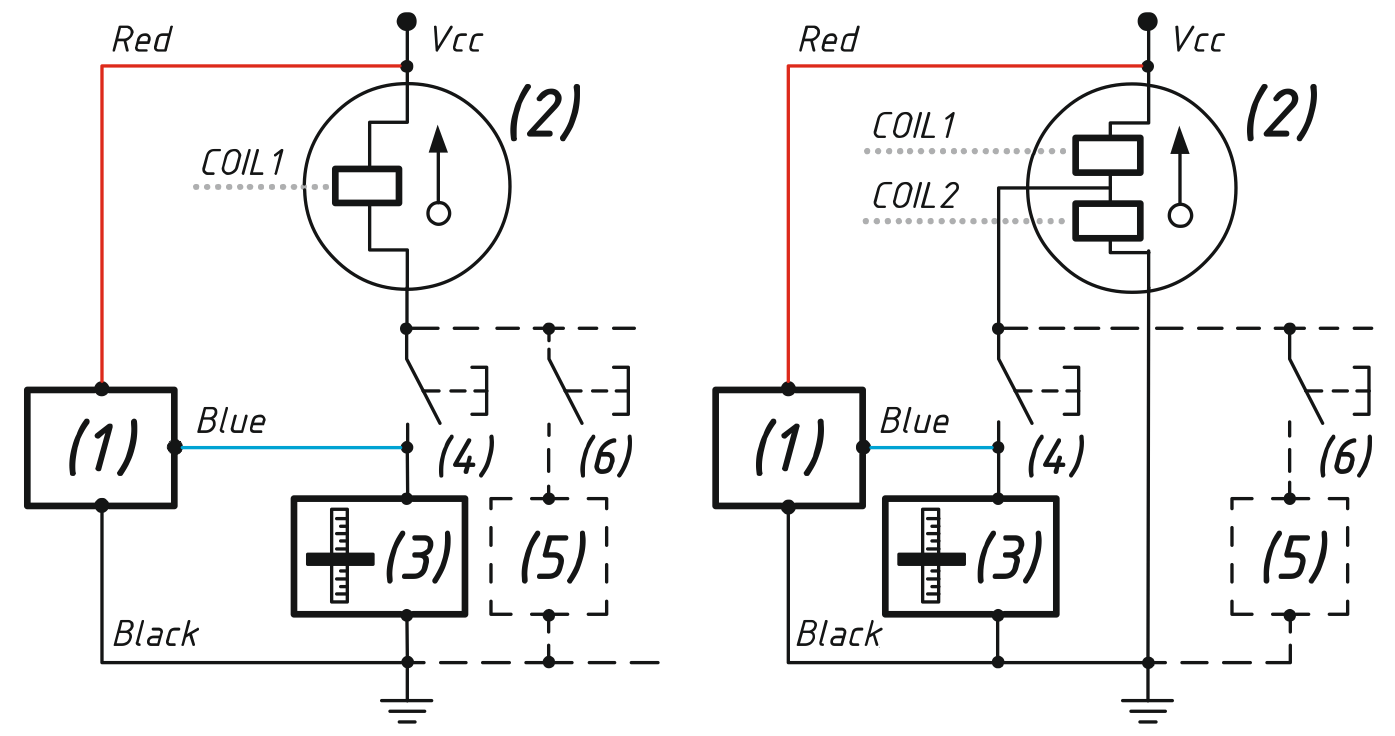 hight resolution of connection in parallel with an exitsting analog gauge