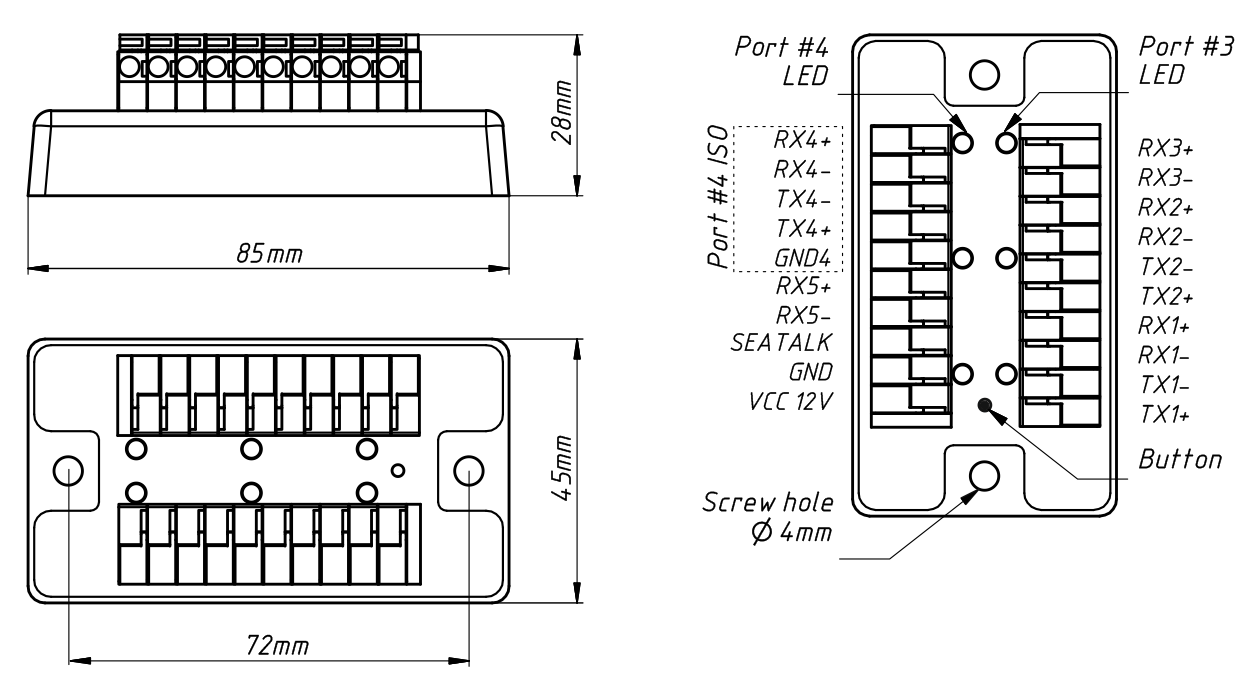 NMEA 0183 Multiplexer