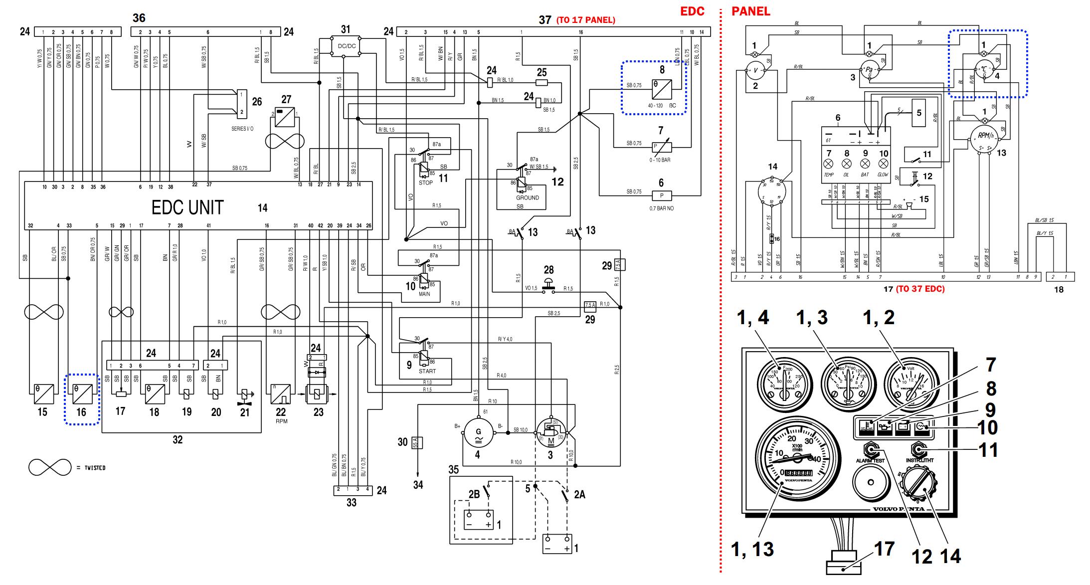 5 7 Wiring Volvo Diagram Penta Gsplkd - Wiring Diagram Data A C Schematic Wiring Diagram on