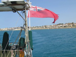 Leaving Marina di Ragusa