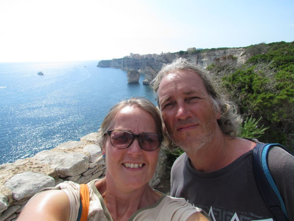Walking the coastal path to the lighthouse