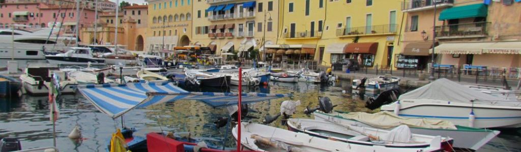 Fishing boats at Portoferraio