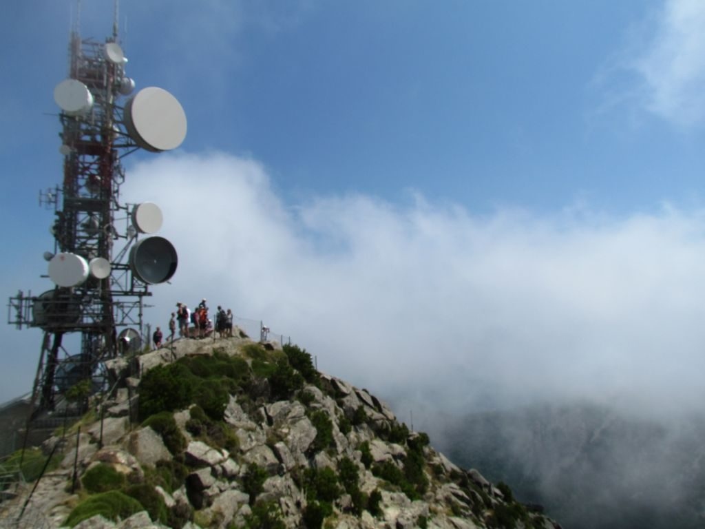 Up on the top of Monte Capanne