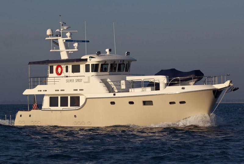 Review Nordhavn Yachts 63 Expedition Trawler Nordhavn