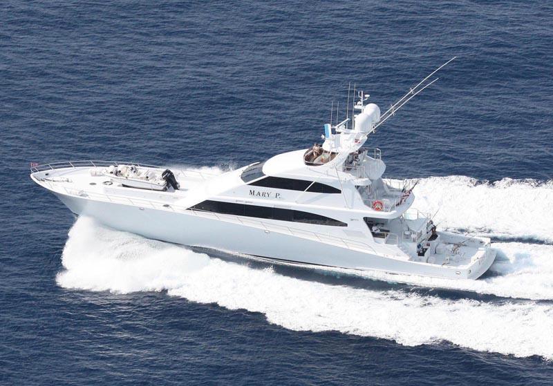 Review Trinity Yachts 122 Sportfish Mary P Trinity