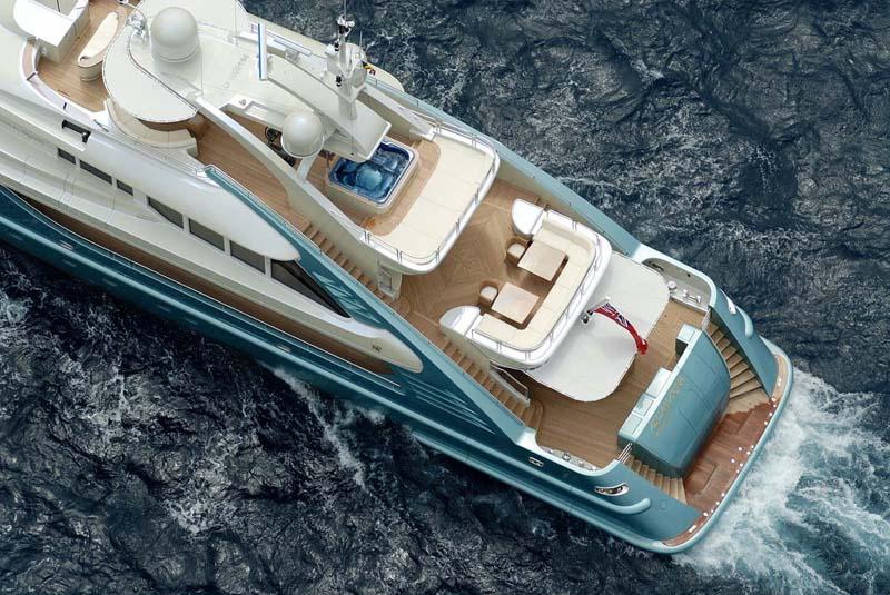 Review ISA 475m Aquamarina ISA Yacht YachtForums