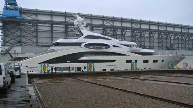 Recent Launch Lurssen 865 M Superyacht ACE Lurssen