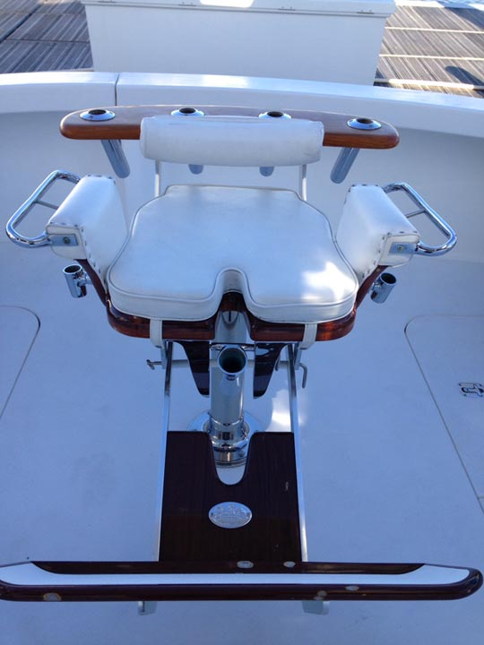 where to buy beach chairs turquoise patio blue water fighting chair for sale - sold! buy/sell/trade | yachtforums: we know big boats!