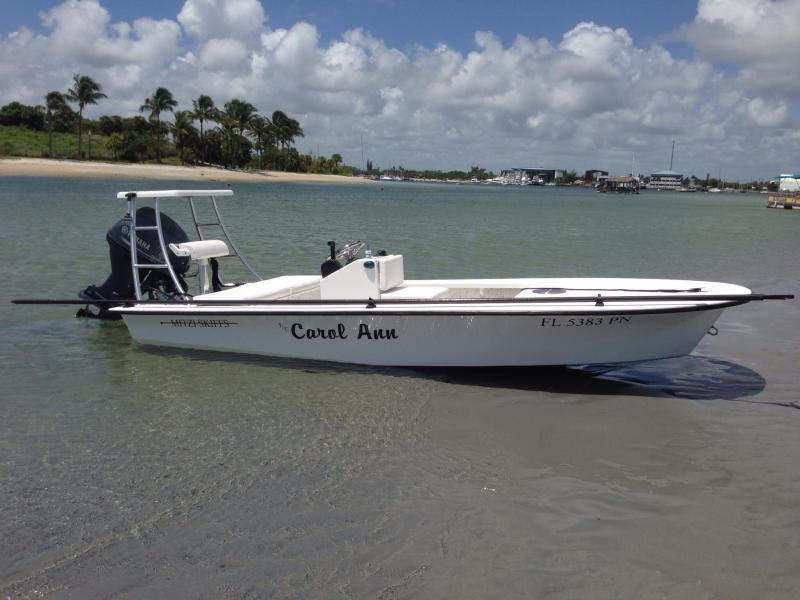 For Sale 15 Mitzi Skiff Flats Boat 2013 BuySellTrade YachtForums We Know Big Boats