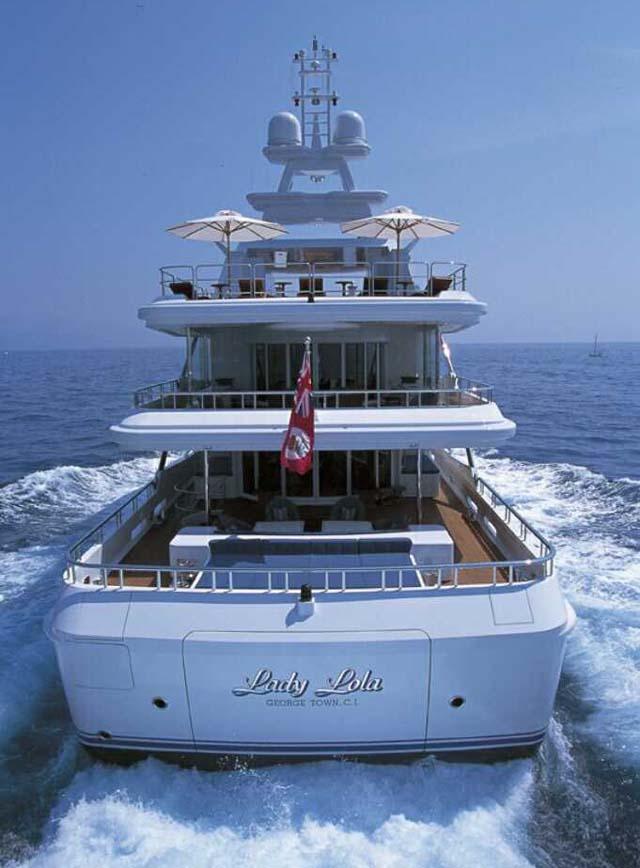 Tour Oceancos Lady Lola Oceanco Yacht YachtForums
