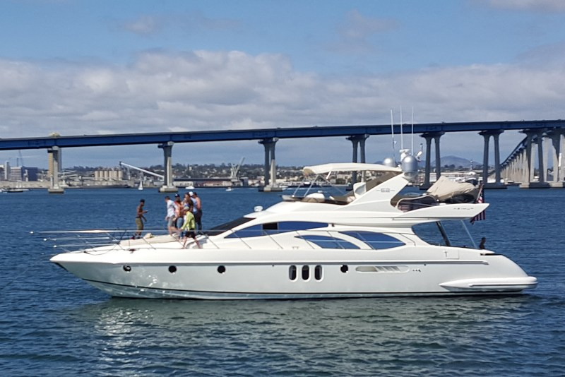 azimut yachting san diego