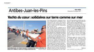 Article presse : 2017-10-14 - Yachts du Coeur