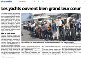 Article Presse Nice Matin 2017-06-22