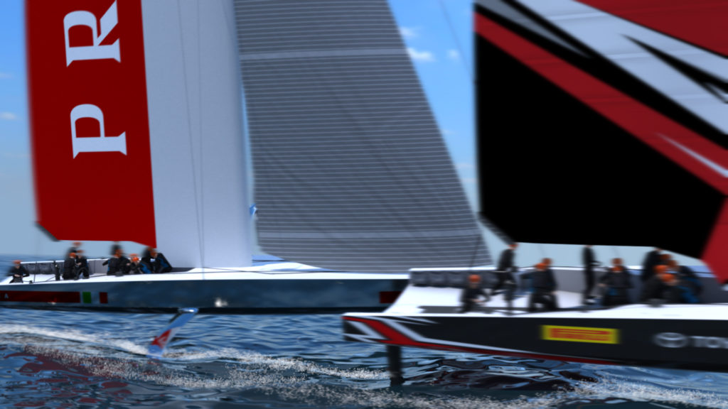 Kiwis reveal new fullfoiling monohull Americas Cup class