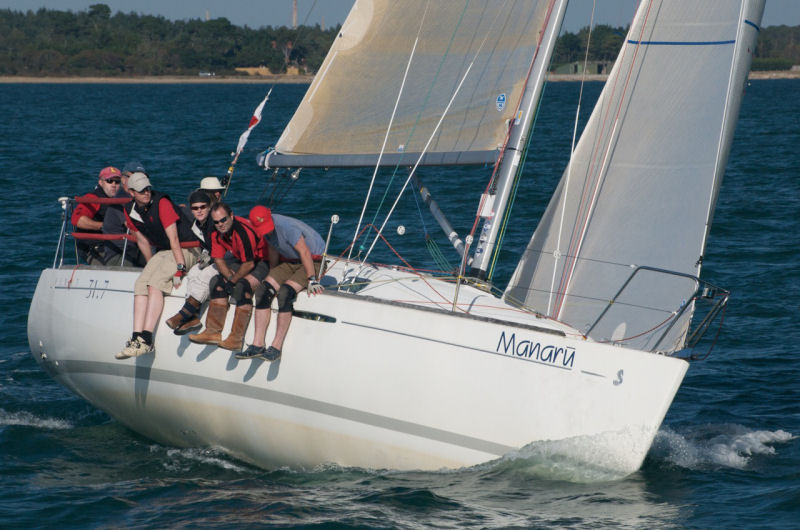 Beneteau First 317 Nationals At Lymington Town Sailing Club