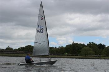 British Moth Open At Earlswood Lakes Sailing Club