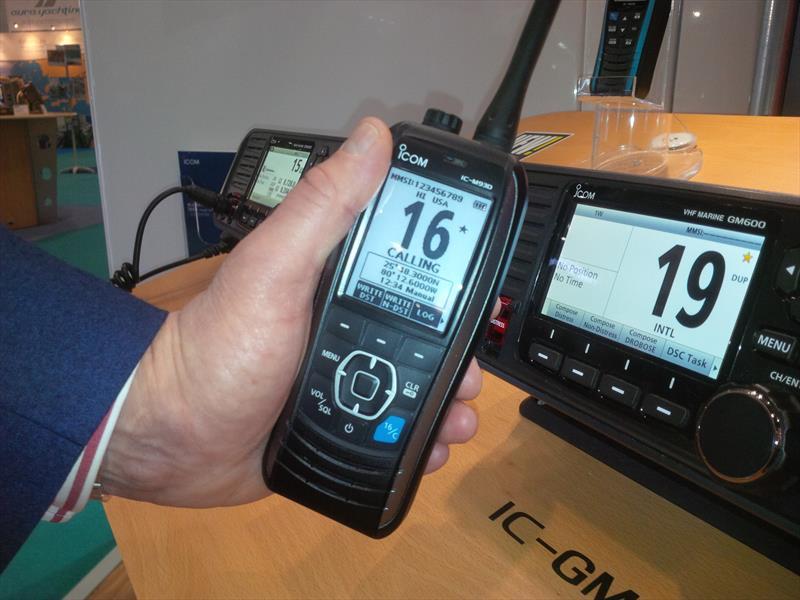 Icoms ICM93D Next Generation Handheld VHFDSC Marine Radio