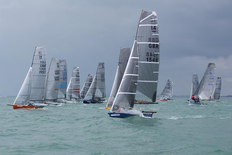International 14 Prince of Wales Cup Week day 1 - photo © Mary Pudney