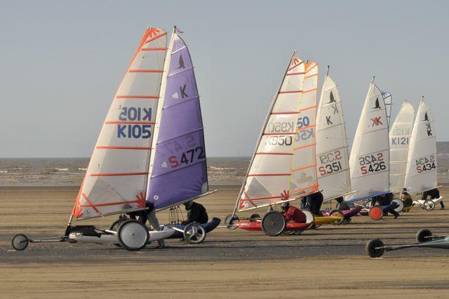 British Land Yacht Championships Round 3 at Brean Land