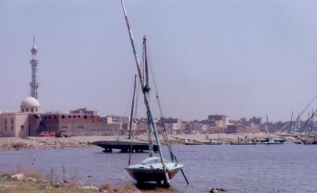 Boats at El-Matariyyah - photo © Liz Potter
