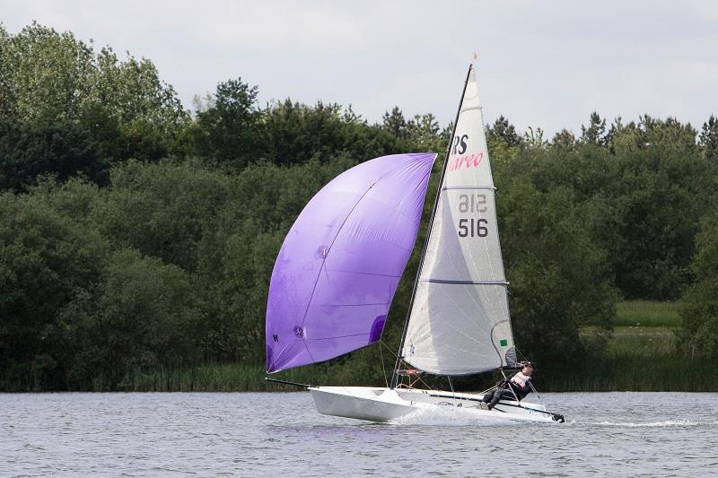 In ful flight during the RS Vareo Inlands at the Illuminis Asymmetric Regatta - photo © Kate Everall Photography