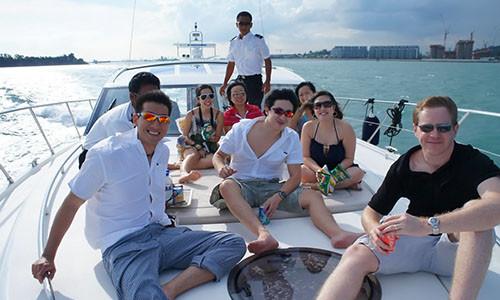 Birthday Party Boat Bahamas
