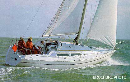 Moody 28 archive details - Yachtsnet Ltd. online UK yacht brokers - yacht brokerage and boat sales
