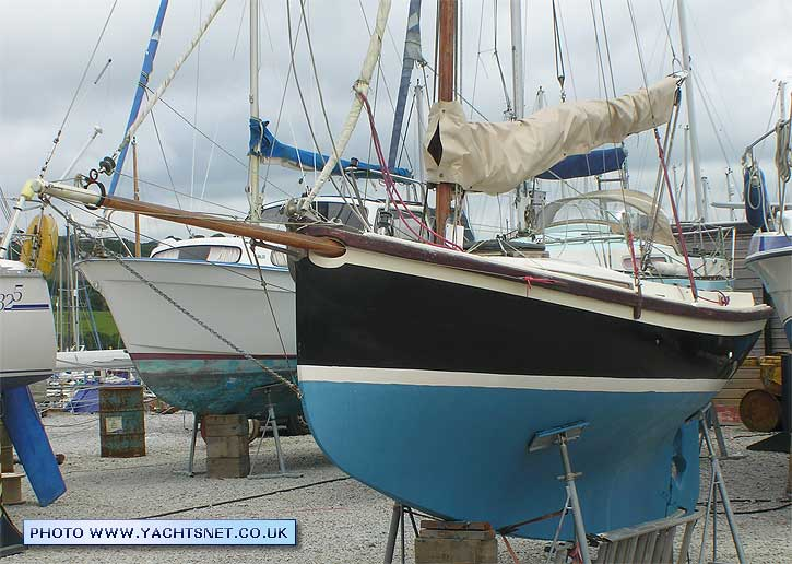 Oysterman 16 GRP Gaff Cutter Archive Details Yachtsnet