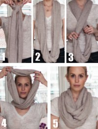 Ways To Tie An Infinity Scarf Step By | Howsto.Co
