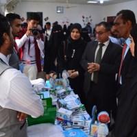 كلية اللغات بجامعة عدن تدشِّن معرضها العلمي الثالث لمشاريع الشباب التجارية لعام 2019م