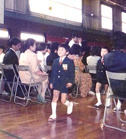 小坪小学校の入学式
