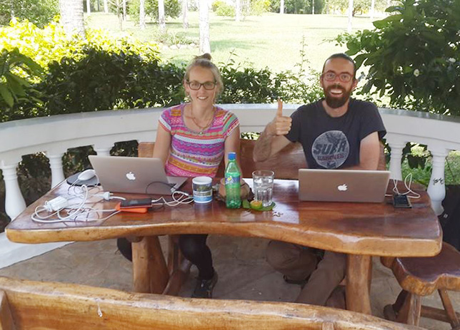 Digital Nomads btina yago paraguay 2014