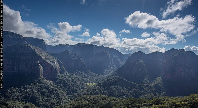 Jurassic Bolivian Landscape