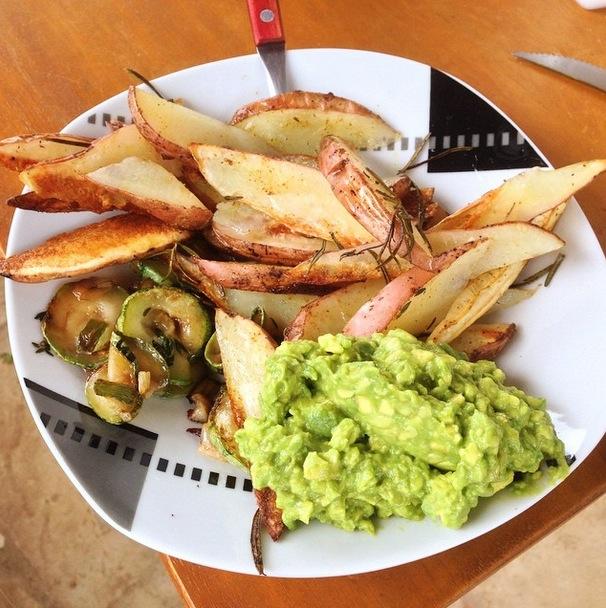 Potato_Avacado_Food
