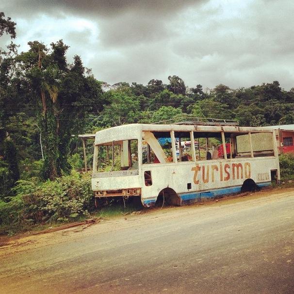 The Bus in Rurrenabaque Bolivia