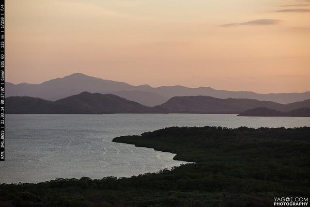 Costa Rica Manzanillo Puntarenas Twilight SunSet