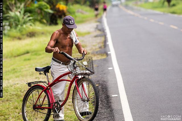 Costa Rica Tico Cycling with Machete