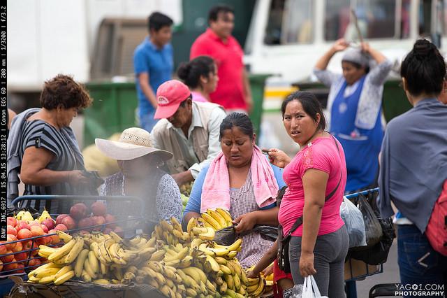 SantaCruzDeLaSierra Mobile Banana Street Market