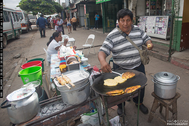 SantaCruzDeLaSierra Street Vendor