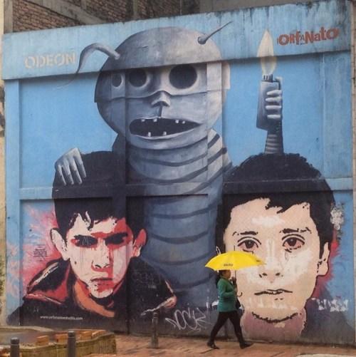 Bogota Colombia Art Grafitti 2