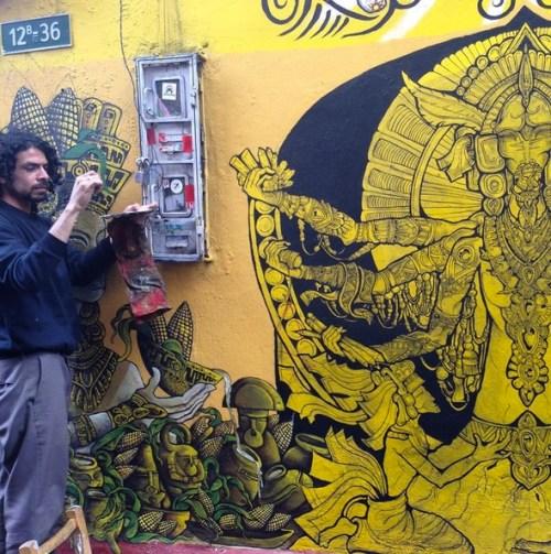 Bogota Colombia Art Grafitti 9