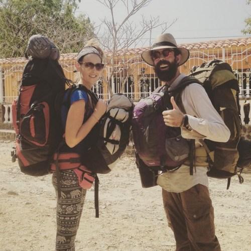 Btina Yago Backpacking Colombia 2015