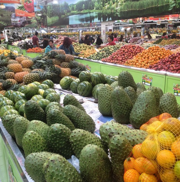 FRUVE frutas verdura bogota colombia