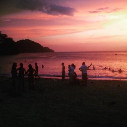 Taganga Colombia Sun Set