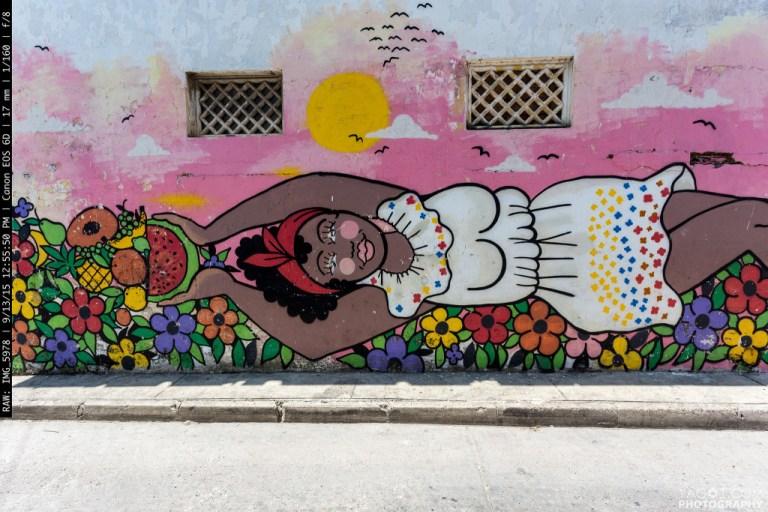 Cartagena Street Art Colombia